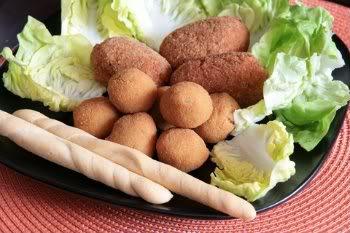Receita de Croquetes de arroz - croquetes-de-arroz