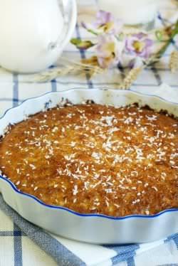 Receita de Torta de Coco Maravilhosa - torta-de-coco-maravilhosa