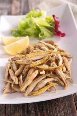 Receita de Manjubinha Frita - Manjubinha-frita-267x400