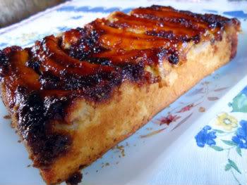 Receita de Torta de Banana com Caramelo
