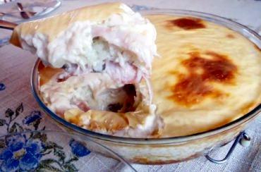 Receita de Arroz de Forno com Molho Branco - arroz-de-forno-com-molho-branco