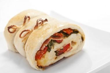 Receita de Pão de Calabresa com Escarola - Pao-de-calabresa-com-escarola-380x253