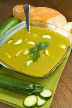 Receita de Sopa de Abobrinha