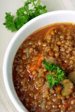Receita de Sopa de Lentilha - sopa-de-lentilha