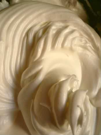 Receita de Falso Chantilly