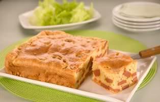 Receita de Torta de Salsicha