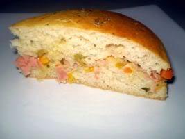 Receita de Torta de Sobra de Arroz