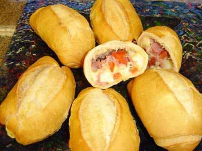 Receita de Pão Francês Recheado - pao-frances-recheado