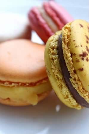 Receita de Macarons (Duas versões)