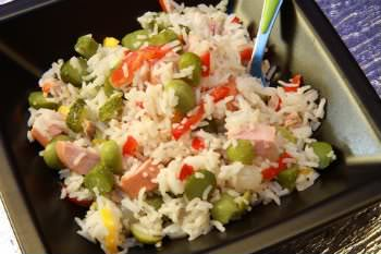 Receita de Arroz Frito - arroz-frito