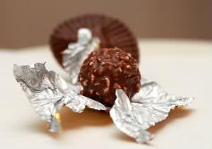 Receita de Bombom tipo Ferrero Rocher - bombom-tipo-ferrero-rocher