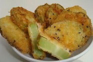 Receita de Chuchu Frito a Milanesa - chuchu-frito-a-milanesa