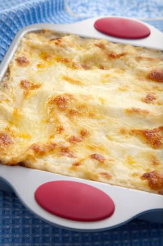 Receita de Lasanha de Peru com Molho Quatro Queijos - lasanha-de-peru-com-molho-quatro-queijos