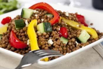 Receita de Salada de Lentilhas - salada-de-lentilhas