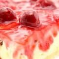 Torta de Queijo e Cereja