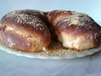 Receita de Pão de Amendoim