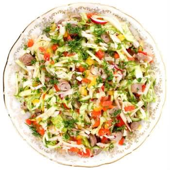 Receita de Salada Mista - salada-mista