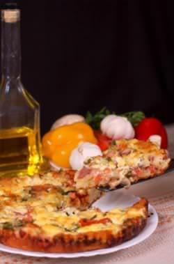 Receita de Torta-pizza - torta-pizza