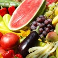 Saladas de Vegetais e Frutas