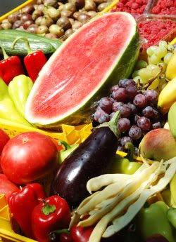 Receita de Saladas de Vegetais e Frutas