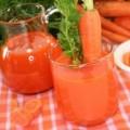 Suco de Cenoura e Limão