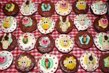 Receita de Cupcakes Fazendinha - 4063001037_2742becd97