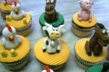 Receita de Cupcakes Fazendinha