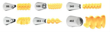 Receita de Bicos de Confeitagem - Ruffle-Tips1