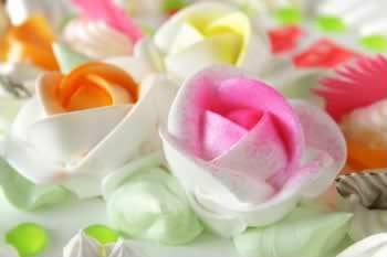 Receita de Rosas de Chantilly Pintadas