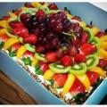 Torta de Frutas para o Dia das Mães