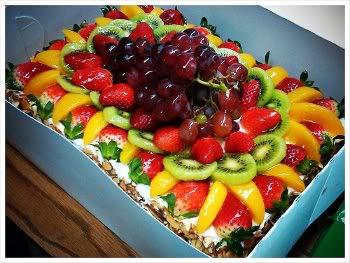 Receita de Torta de Frutas para o Dia das Mães