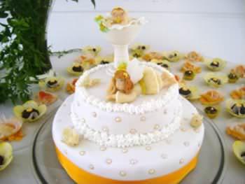 Receita de Bolo de Batizado - bolo-de-batizado