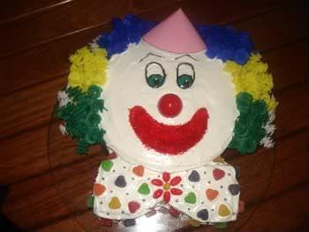 Receita de Bolo Decorado - Palhaço - bolo-decorado-palhaco