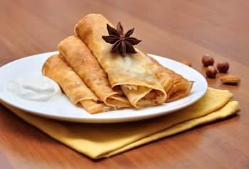 Receita de Panqueca de Presunto e Queijo  - panqueca-de-presunto-e-queijo