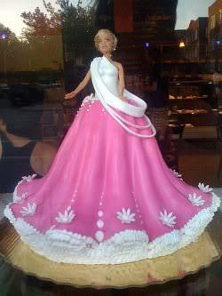 Receita de Bolo Barbie - bolo-barbie
