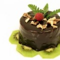 Bolo de Kiwi com Chocolate