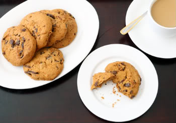 Receita de Cookies de Chocolate