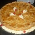 Torta Cremosa de Camarão