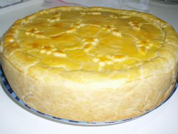 Receita de Torta de Palmito