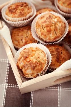 Receita de Muffins Salgados