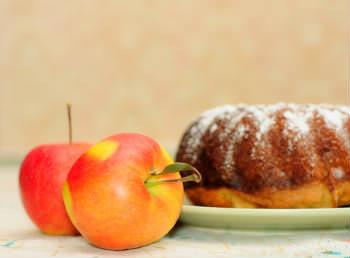 Receita de Bolo de Maçã Diet - bolo-de-maca-diet