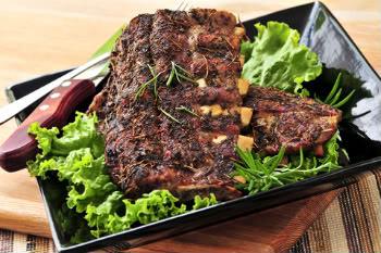 Receita de Costela de Porco ao Forno com Alecrim - costela-de-porco-ao-forno-com-alecrim