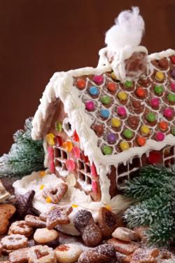 Receita de Gingerbread House - dreamstime_xs_16700721