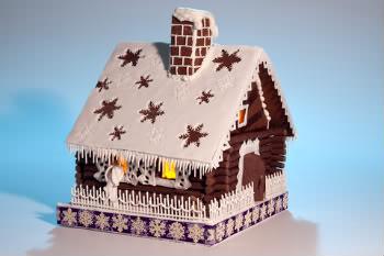 Receita de Gingerbread House - gingerbread-house