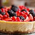 Cheese Cake de Panetone e Frutas