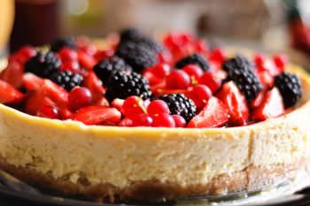 Receita de Cheesecake de Panetone e Frutas - cheese-cake-de-panetone-e-frutas