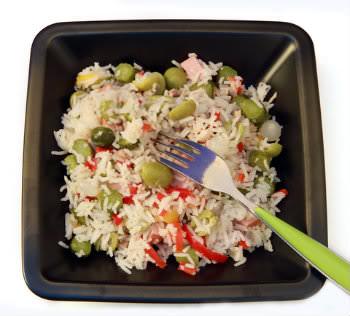 Receita de Arroz Colorido - arroz-colorido