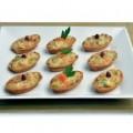 Barquete de Legumes com Amendoim