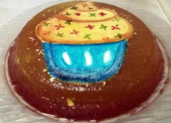 Receita de Gelatina Decorada - gelatina-decorada