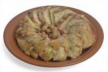 Receita de Rosca de Chuchu com Amendoim - rosca-de-chuchu-com-amendoim